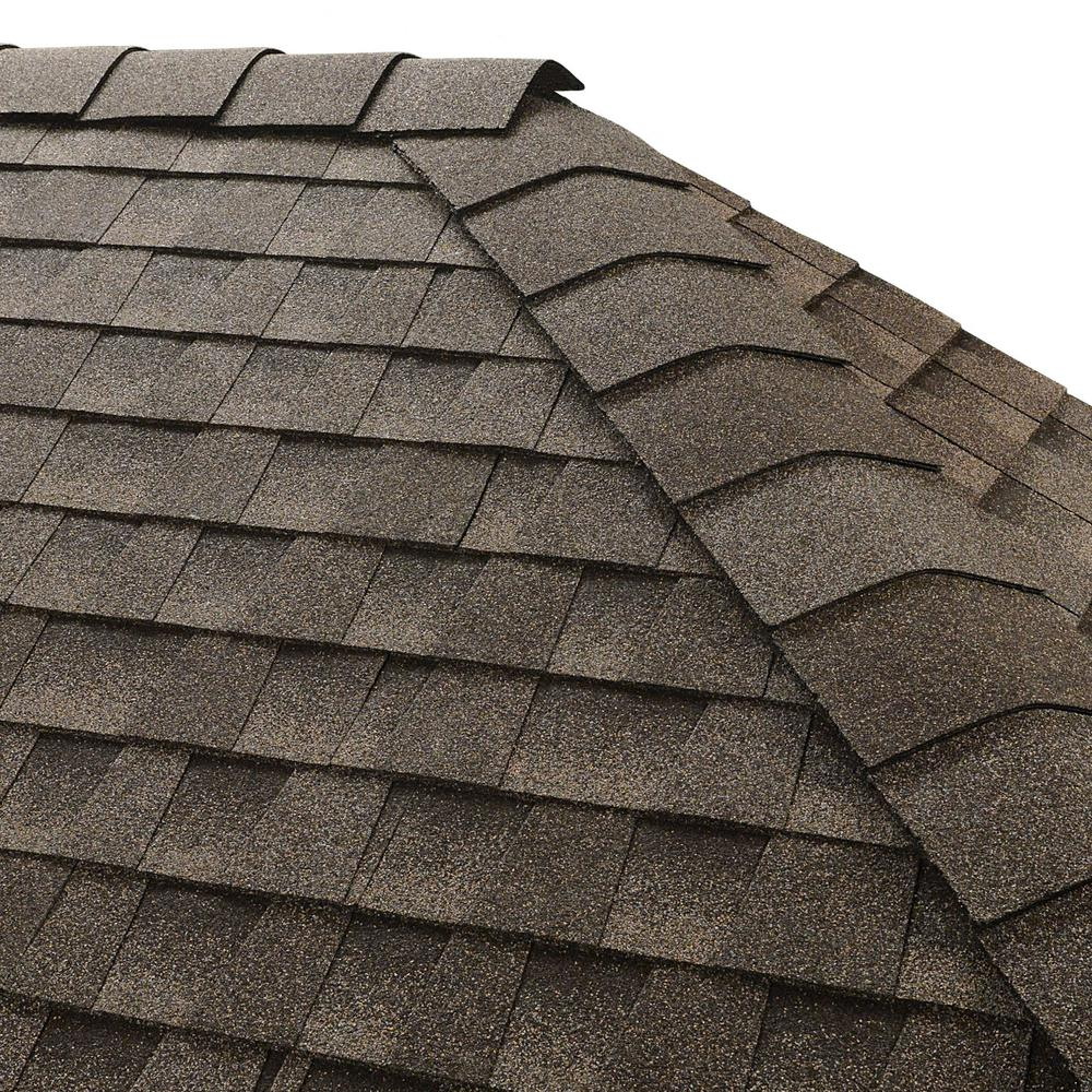 Timbertex Mission Brown Hip and Ridge Mission Shingles (20 linear ft.