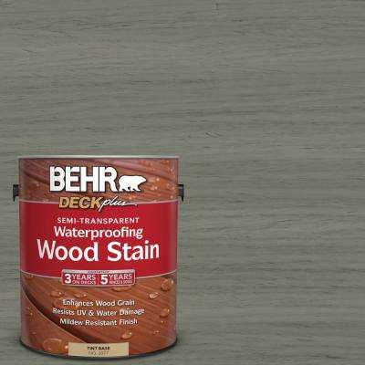 1 gal. #ST-137 Drift Gray Semi-Transparent Waterproofing Wood Stain