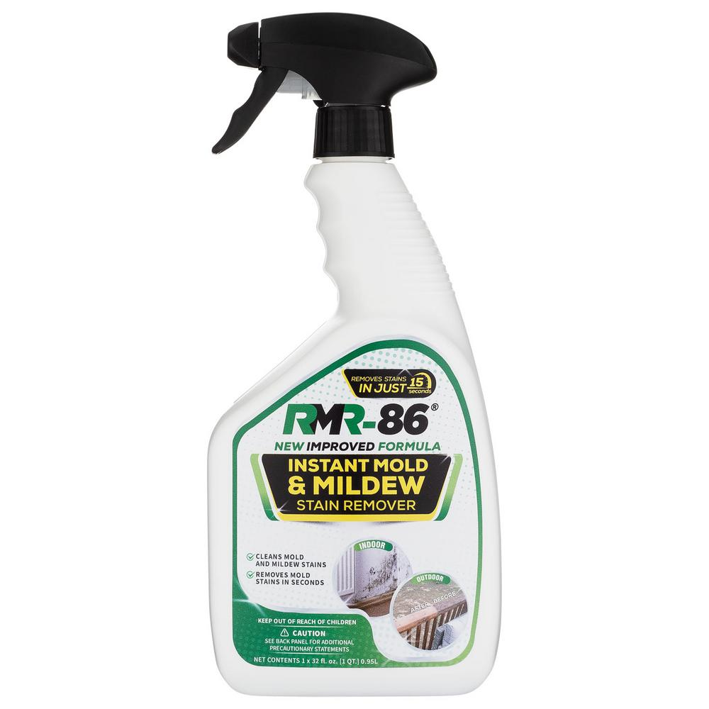 Rmr Brands 32 Oz Instant Mold And Mildew Stain Remover Rmr8632oz The Home Depot