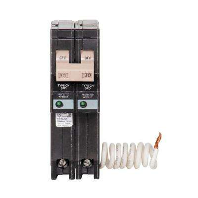 CH 30 Amp 2-Pole Circuit Breaker with Surge Protection