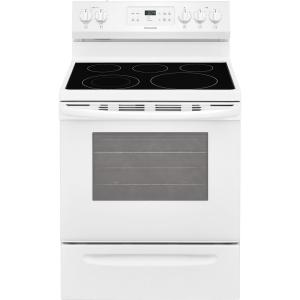 30 in 53 cu ft electric range with oven in