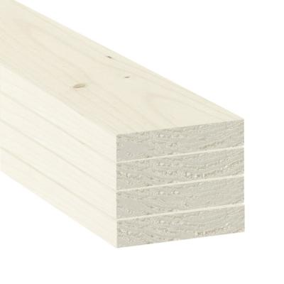 1 in. x 4 in. x 2 ft. SPF Primed Boards (4-Pack)