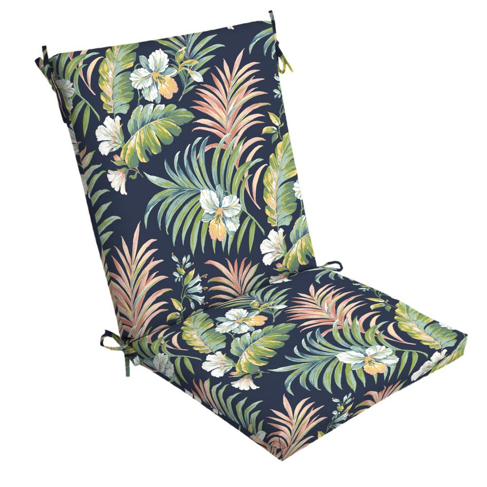 ArdenSelections Arden Selections 20 in. x 24 in. Simone Tropical Outdoor Chair Cushion