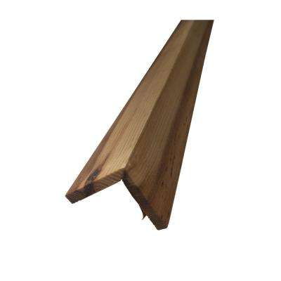 River Plank 48 in. Outside Corner Peel and Stick Wall Applique Panel