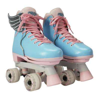Girls Size 12-3 Classic Cotton Candy Skates