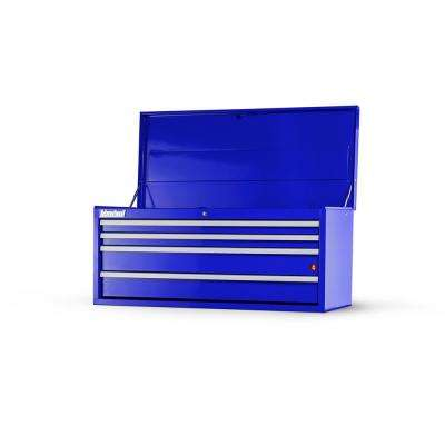 Workshop Series 42 in. 4-Drawer Top Chest in Blue