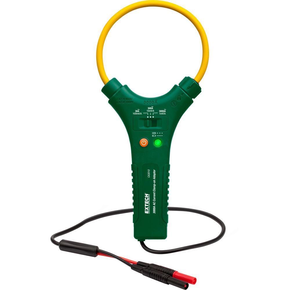 3,000 Amp AC Flex Clamp-On Adaptor