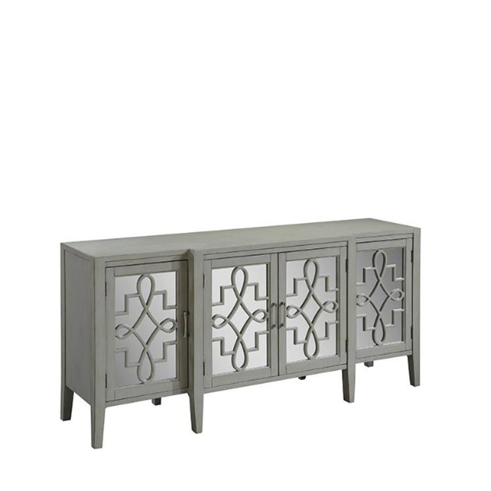 Clover Grey Mirrored Cabinet