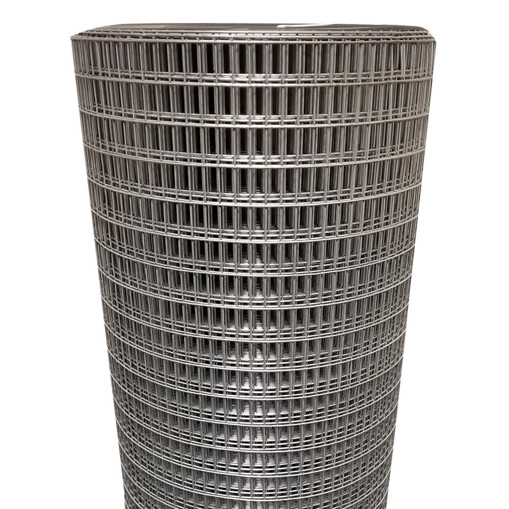 Everbilt 5 x 100ft 14-Gauge Welded Wire Garden Animal Zinc Galvanized Fence Roll