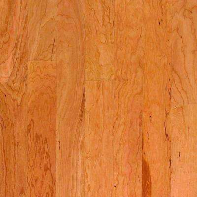 Take Home Sample - American Cherry Natural Engineered Click Wood Flooring - 5 in. x 7 in.