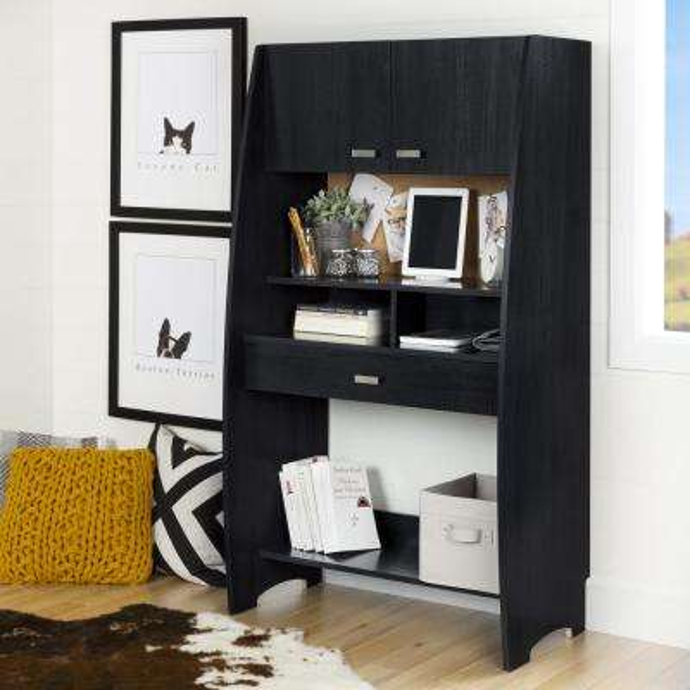 Reevo Black Onyx Desk