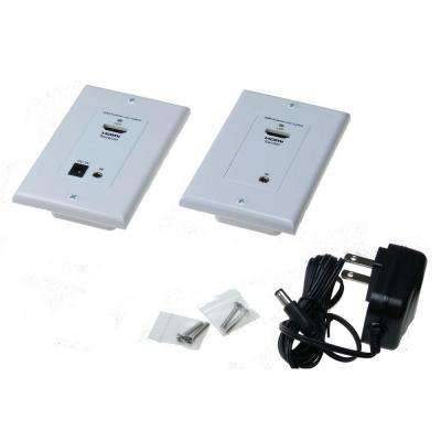 HDMI and IR wall Plate Signal Extender up to 165 ft.