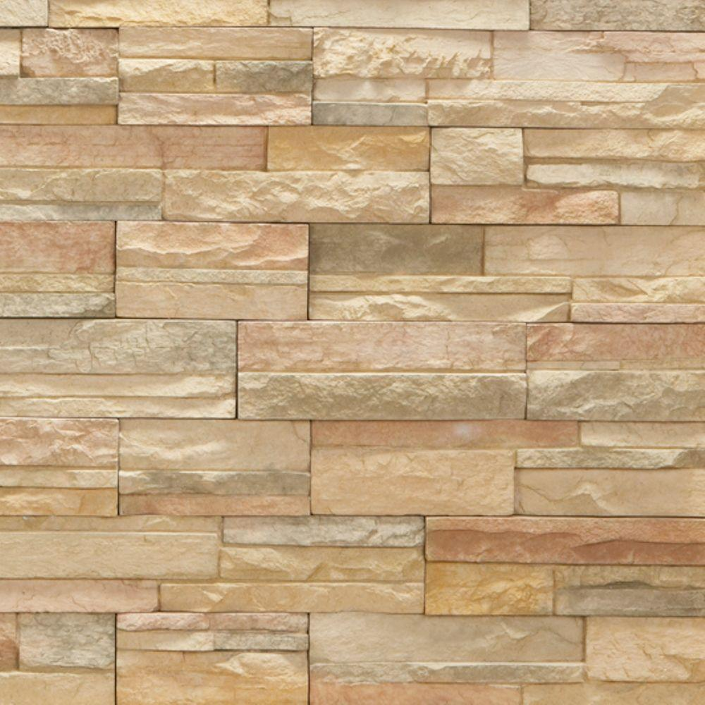Veneerstone imperial stack stone cordovan flats 10 sq ft for Manufactured veneer stone