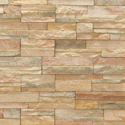 Imperial Stack Stone Cordovan Flats 10 sq. ft. Handy Pack Manufactured Stone