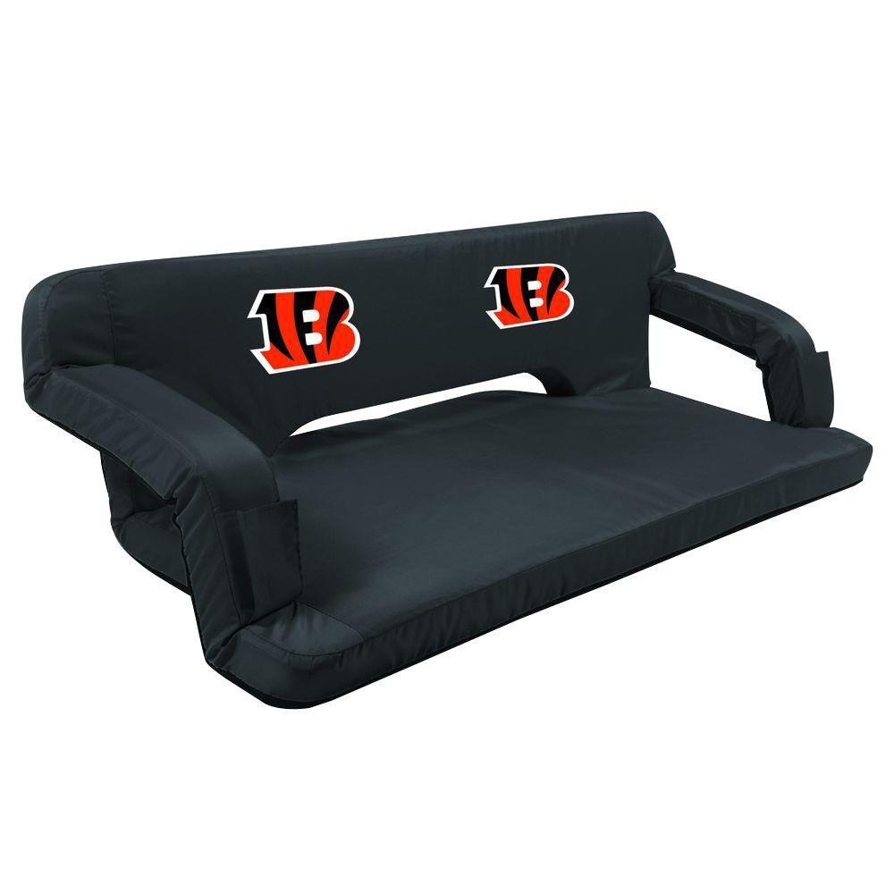 Cincinnati Bengals Black Reflex Travel Couch