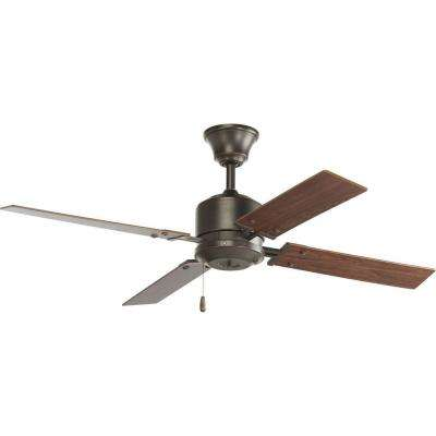 North Park 52 in. Indoor Antique Bronze Ceiling Fan