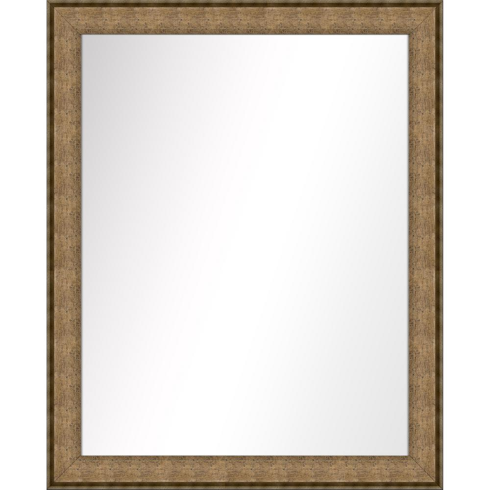 Ptm Images Medium Rectangle Dark Champagne Art Deco Mirror 31 5 In H X 25 5 In W 5 15446 The Home Depot