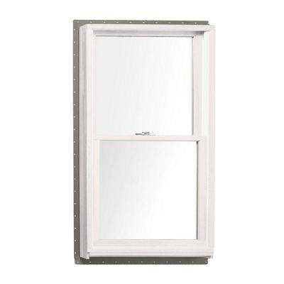 37.625 in. x 56.875 in. 400 Series Double Hung White Interior Wood Windows