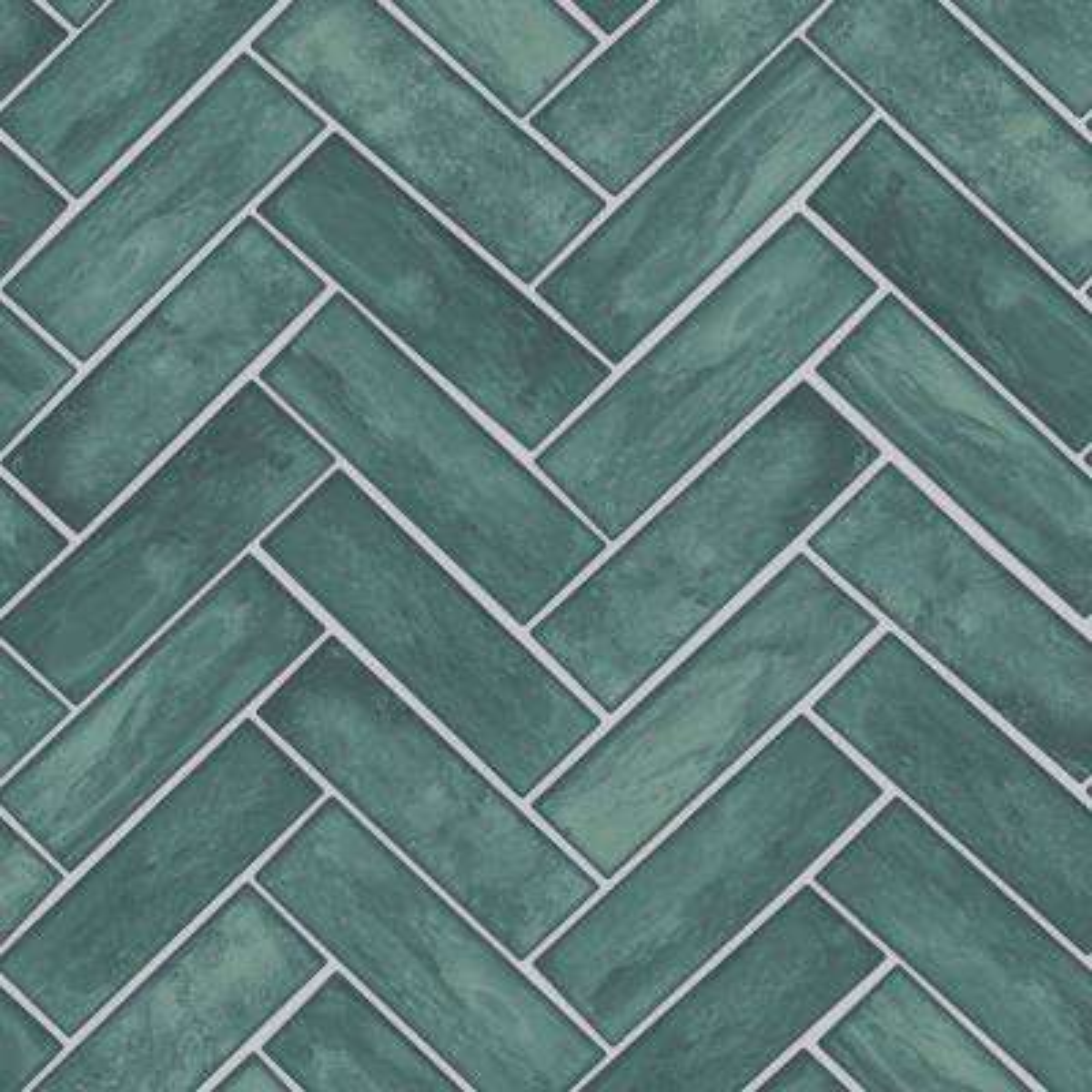 Modern Chevron Herringbone Textured Wallpaper Home Decor
