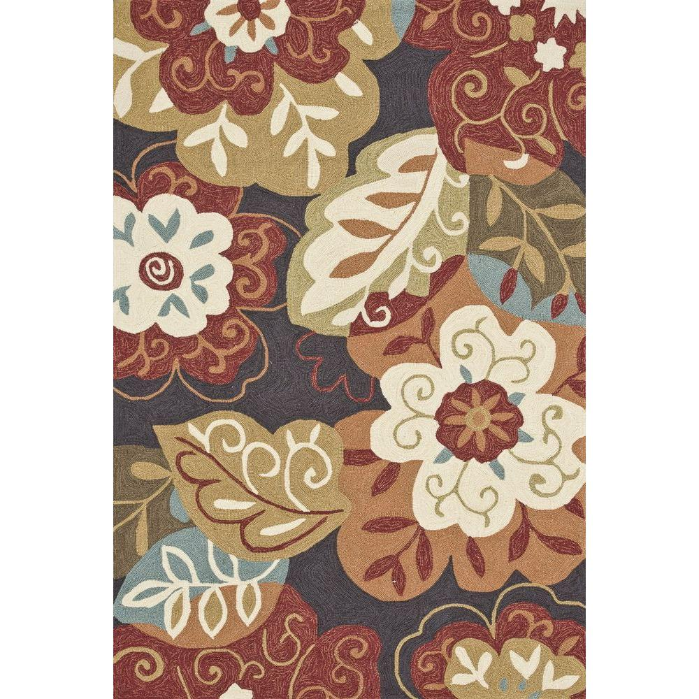 Loloi Rugs Summerton Lifestyle Collection Black/Multi 5 ft. x 7 ft. 6 in. Area Rug