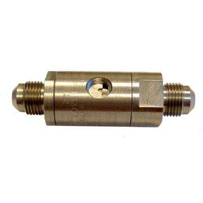 3/8 in. Stainless Steel Carbonated Beverage Backflow Preventer with Vent