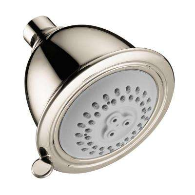 Croma C 75 2-Spray 3-1/2 in. Shower Head in Polished Nickel