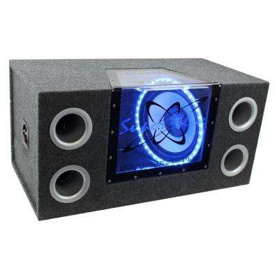12 in. 1200-Watt Car Audio Sub Box Subwoofer Bandpass Box Subs