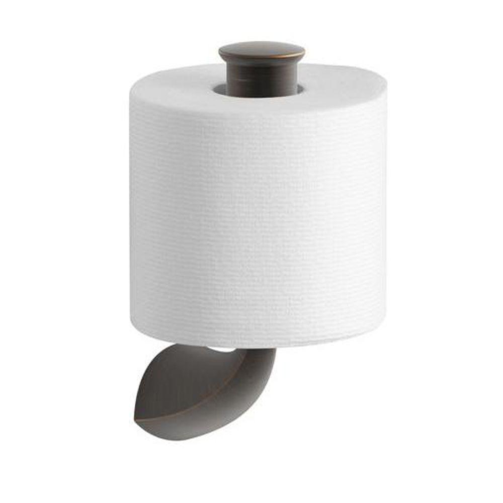 Alteo Single Post Toilet Paper Holder in Oil-Rubbed Bronze