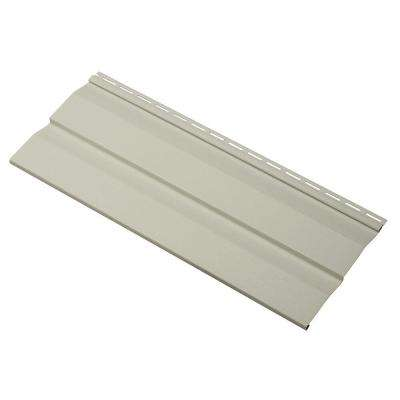 Transformations Double 4.5 in. x 24 in. Dutch Lap in Vinyl Siding Sample in Olive