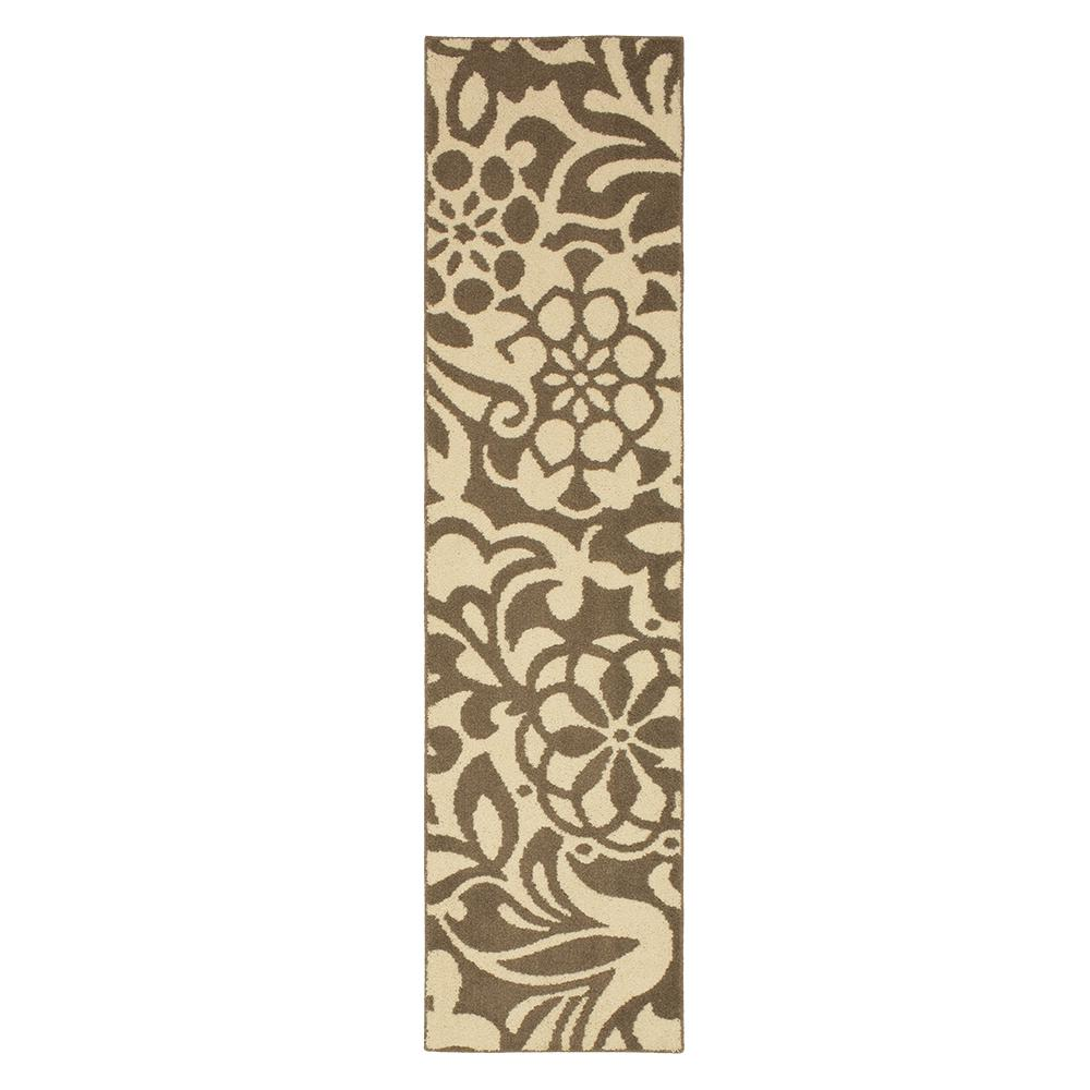 Mohawk Home Simpatico Taupe Starch 2 Ft X 8 Runner Rug