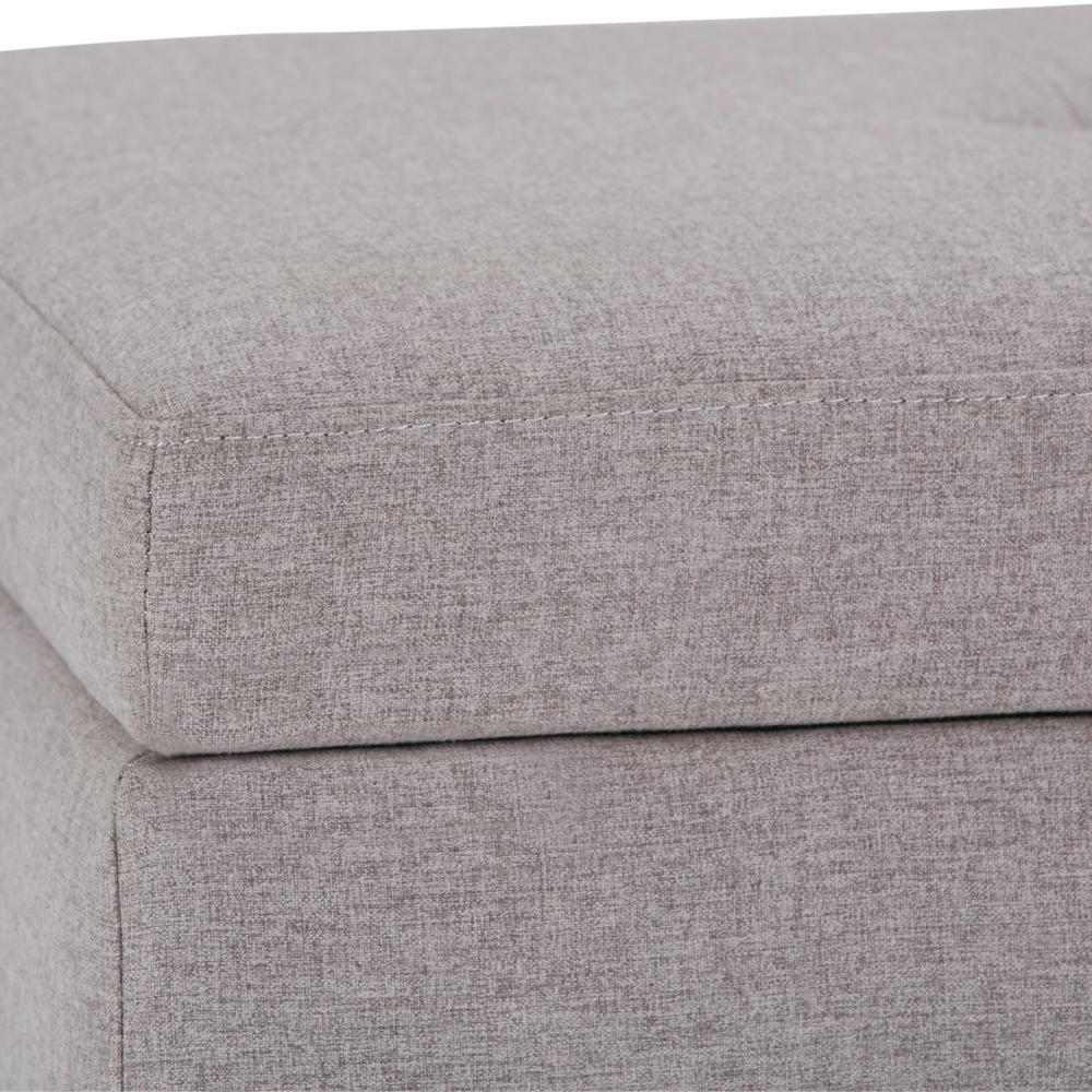 Swell Simpli Home Oregon 42 In Transitional Storage Ottoman In Customarchery Wood Chair Design Ideas Customarcherynet