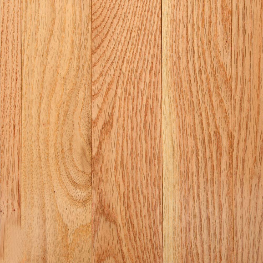 Bruce american originals natural red oak 3 4 in t x 3 1 4 for Red oak hardwood flooring