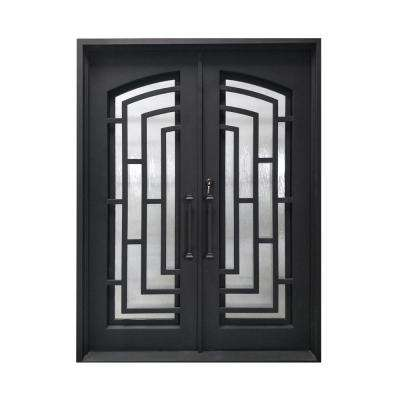 Double Door Iron Doors Front Doors The Home Depot