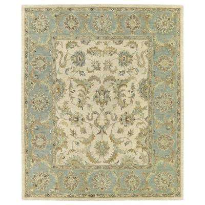 Solomon King David Ivory 9 ft. x 12 ft. Area Rug