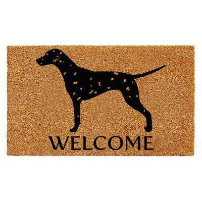 Dalmatian 24 in. x 36 in. Door Mat