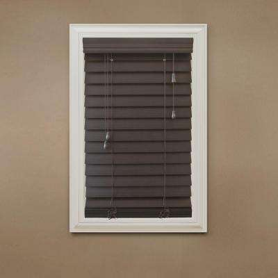 2-1/2 in. Premium Faux Wood Blind