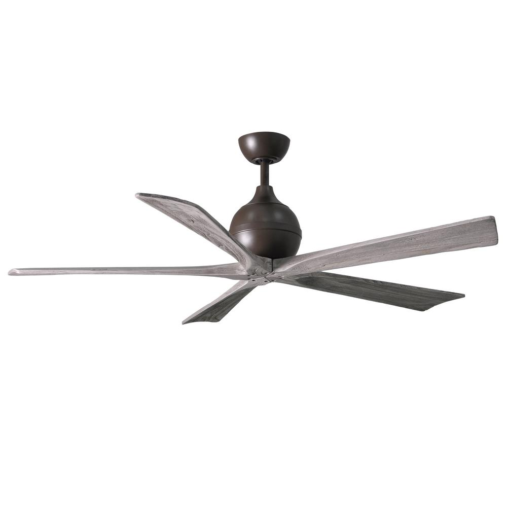 Irene 60 in. Indoor/Outdoor Textured Bronze Ceiling Fan with Remote Control