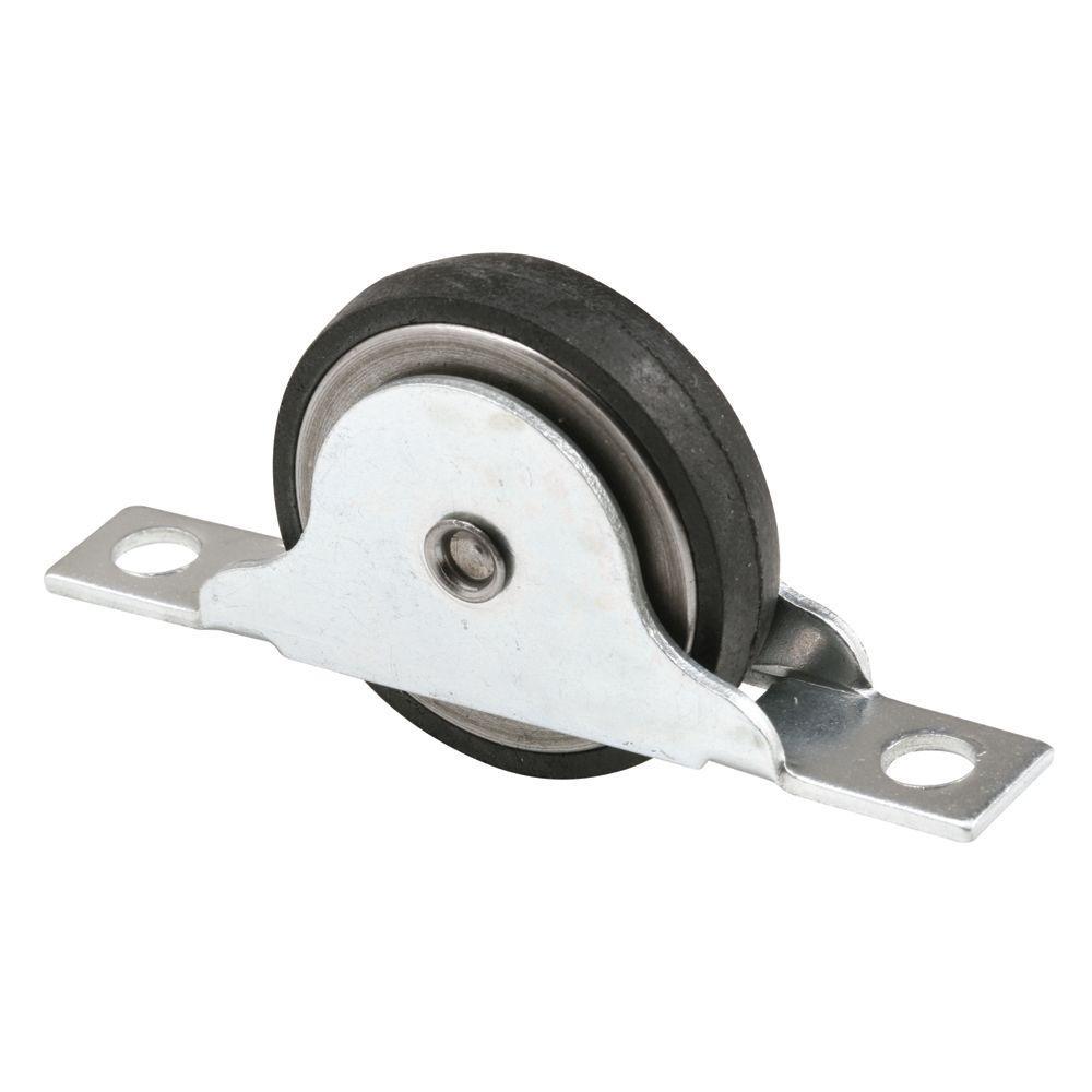 Flat Neoprene Closet Door Roller  sc 1 st  The Home Depot & Prime-Line 1-3/8 in. Flat Neoprene Closet Door Roller-N 6688 - The ...