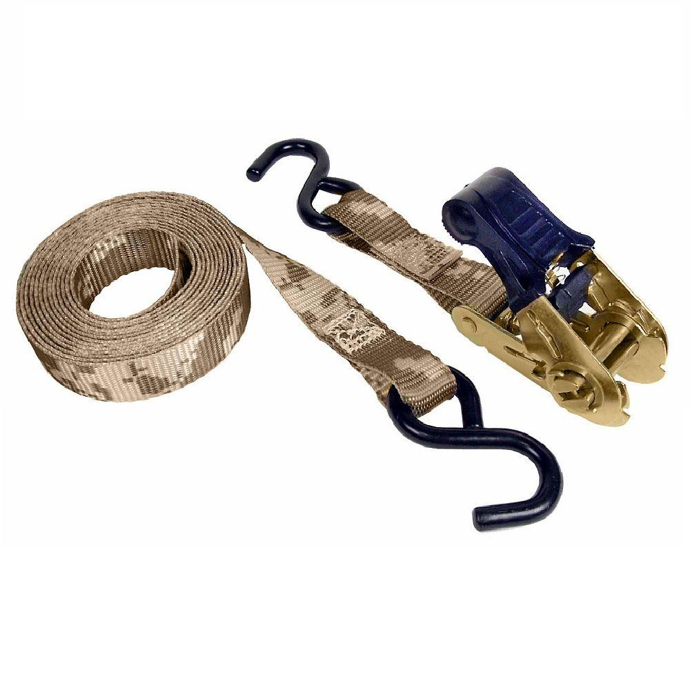 Keeper 12 Ft X 1 In X 500 Lbs Ratchet Strap Tie Down