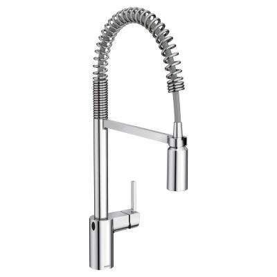 Align Touchless Single-Handle Pull-Down Sprayer Kitchen Faucet with MotionSense Wave in Spot Resist Stainless in Chrome