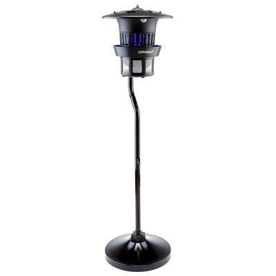 1/2 Acre Pole Mount Insect and Mosquito Trap with Water Tray
