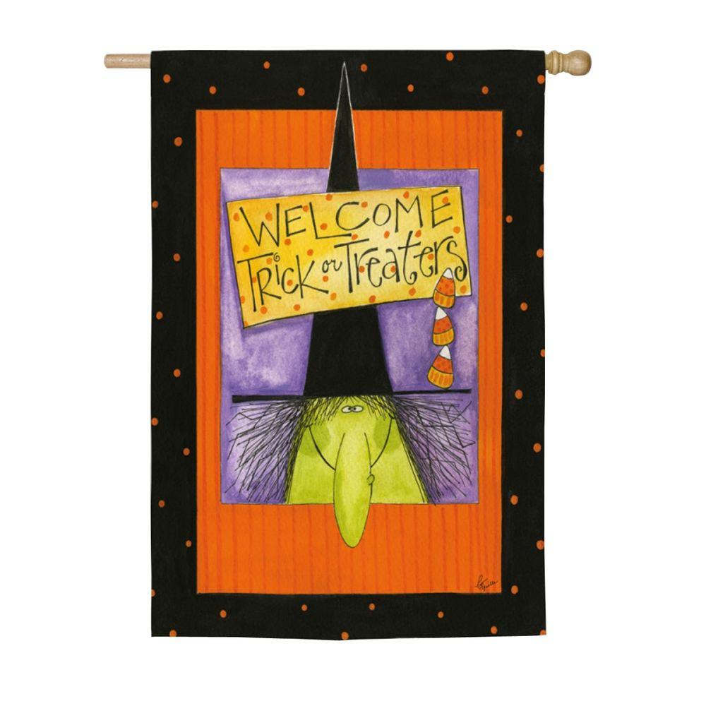 Evergreen 2 ft. x 4 ft. Boo Ghost Flag