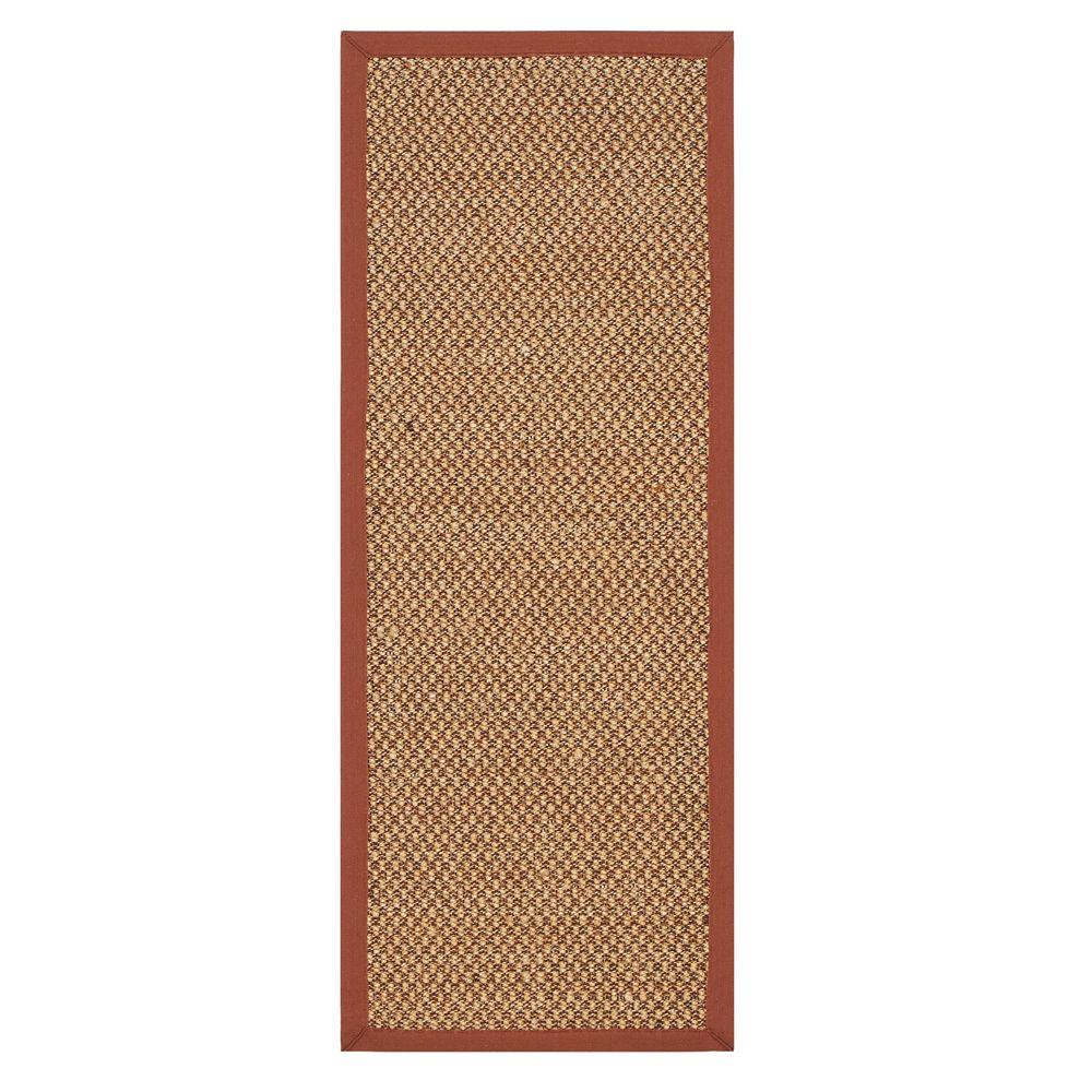 Home decorators collection adirondack sisal rust 2 ft 6 for Home decorators rug runners