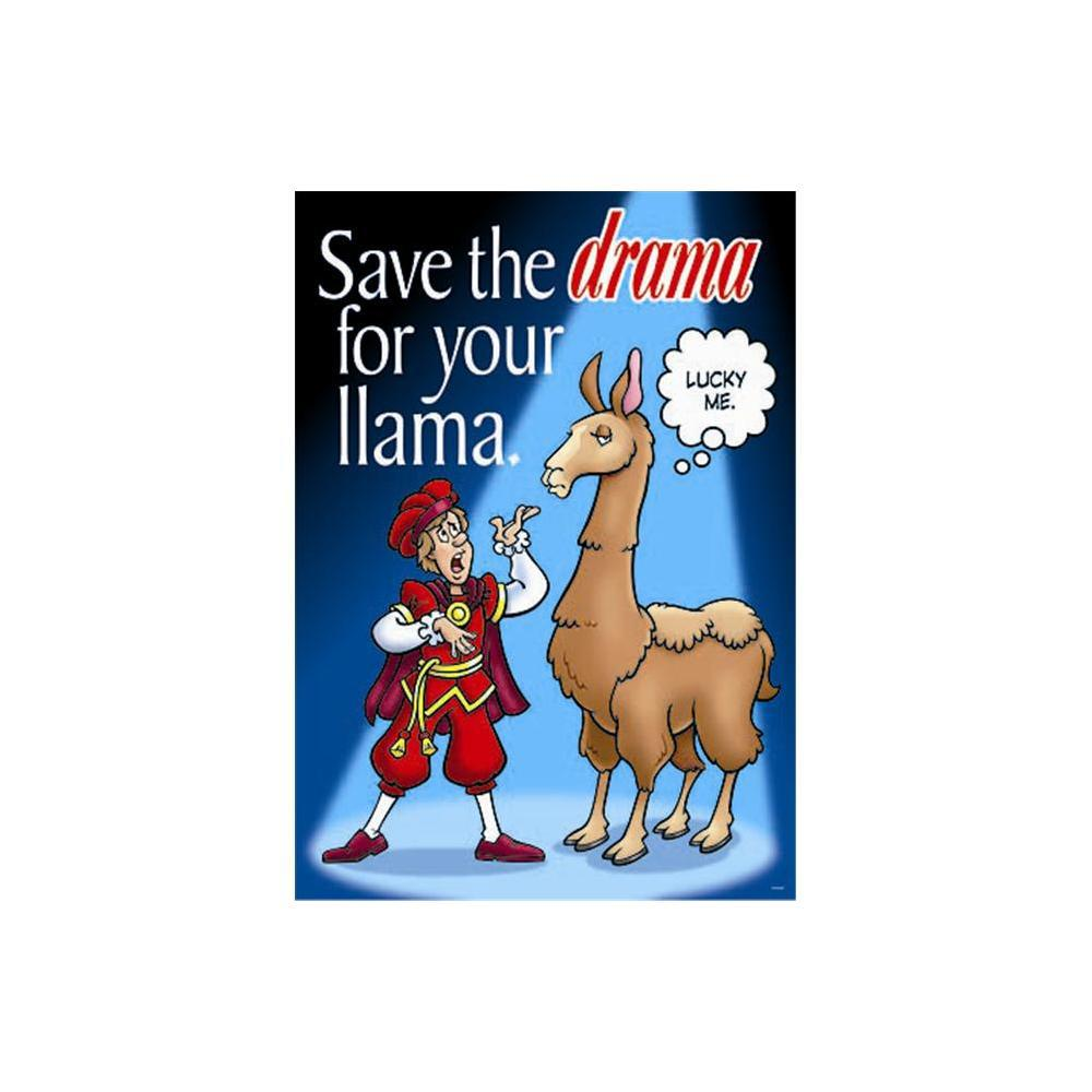 Save the Drama For Your Large Posters