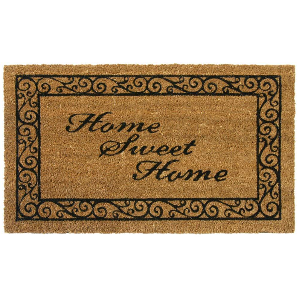 Home Sweet Home 30 in. x 18 in. Door Mat