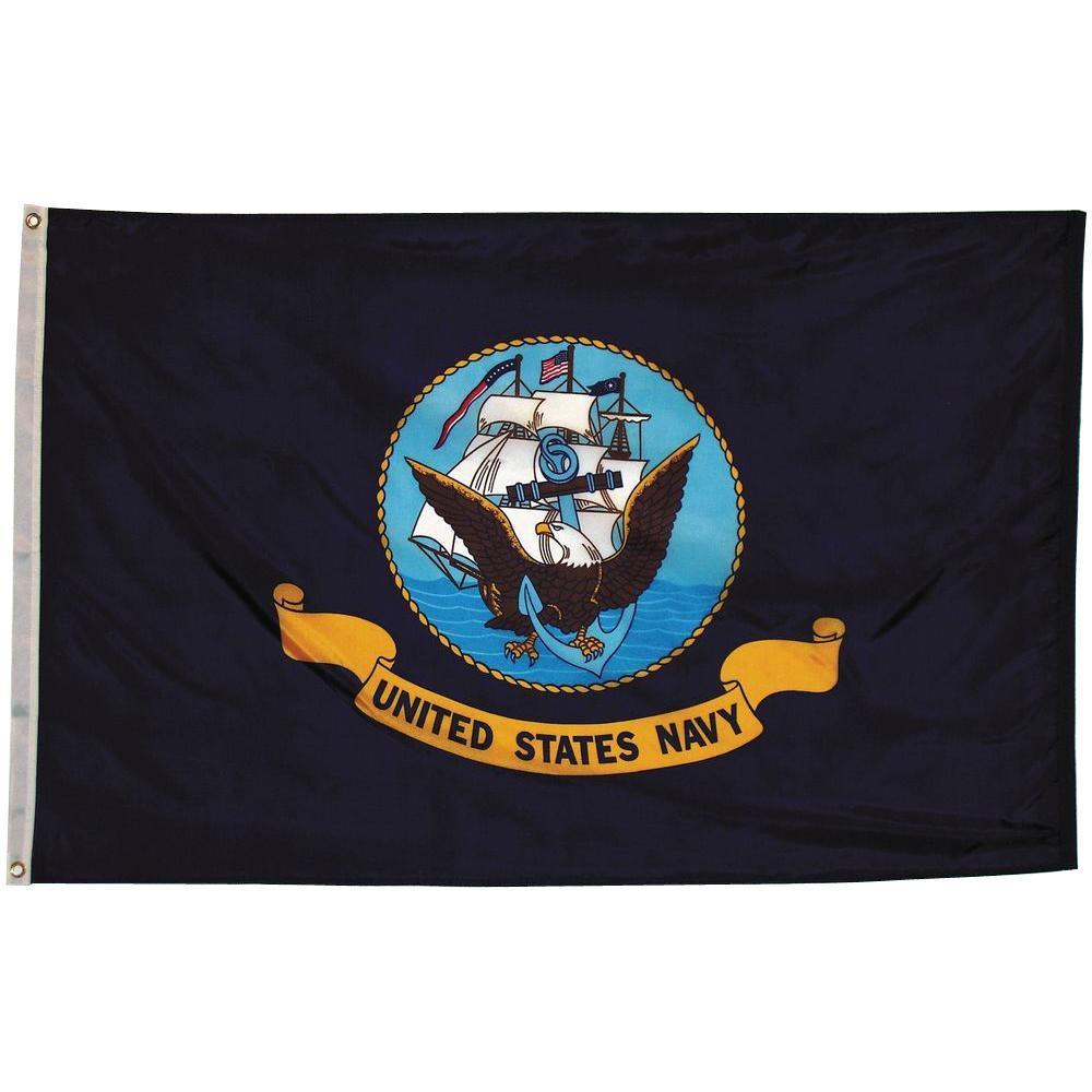 3 ft. x 5 ft. Navy Flag