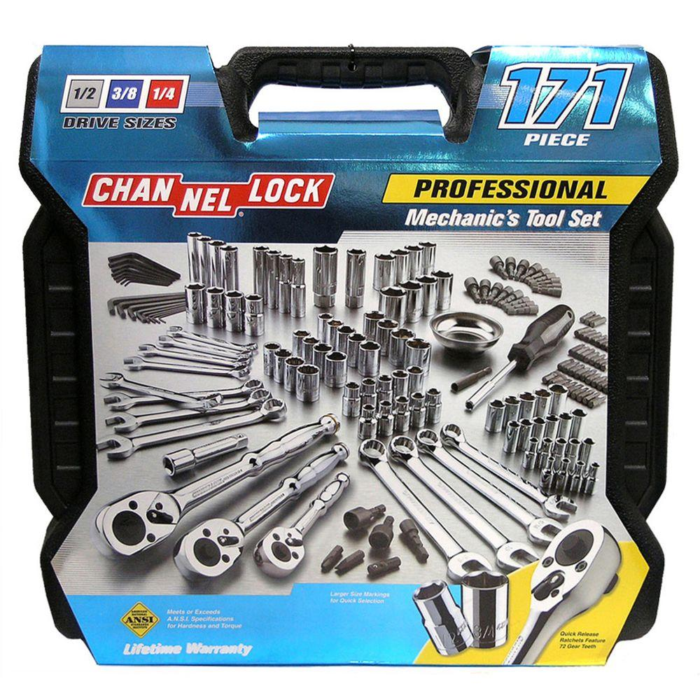 Channellock Mechanic's Tool Set (171-Piece)