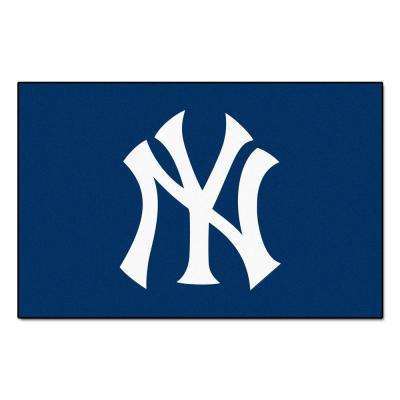 New York Yankees 19 in. x 30 in. Accent Rug