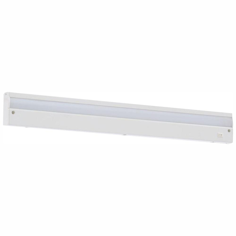 Commercial Electric 24 in. LED White Direct Wire Under Cabinet Light