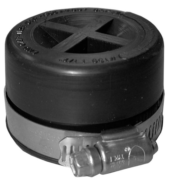 4 in. Flexible PVC Standard Test Cap for Cast Iron and Plastic Pipe